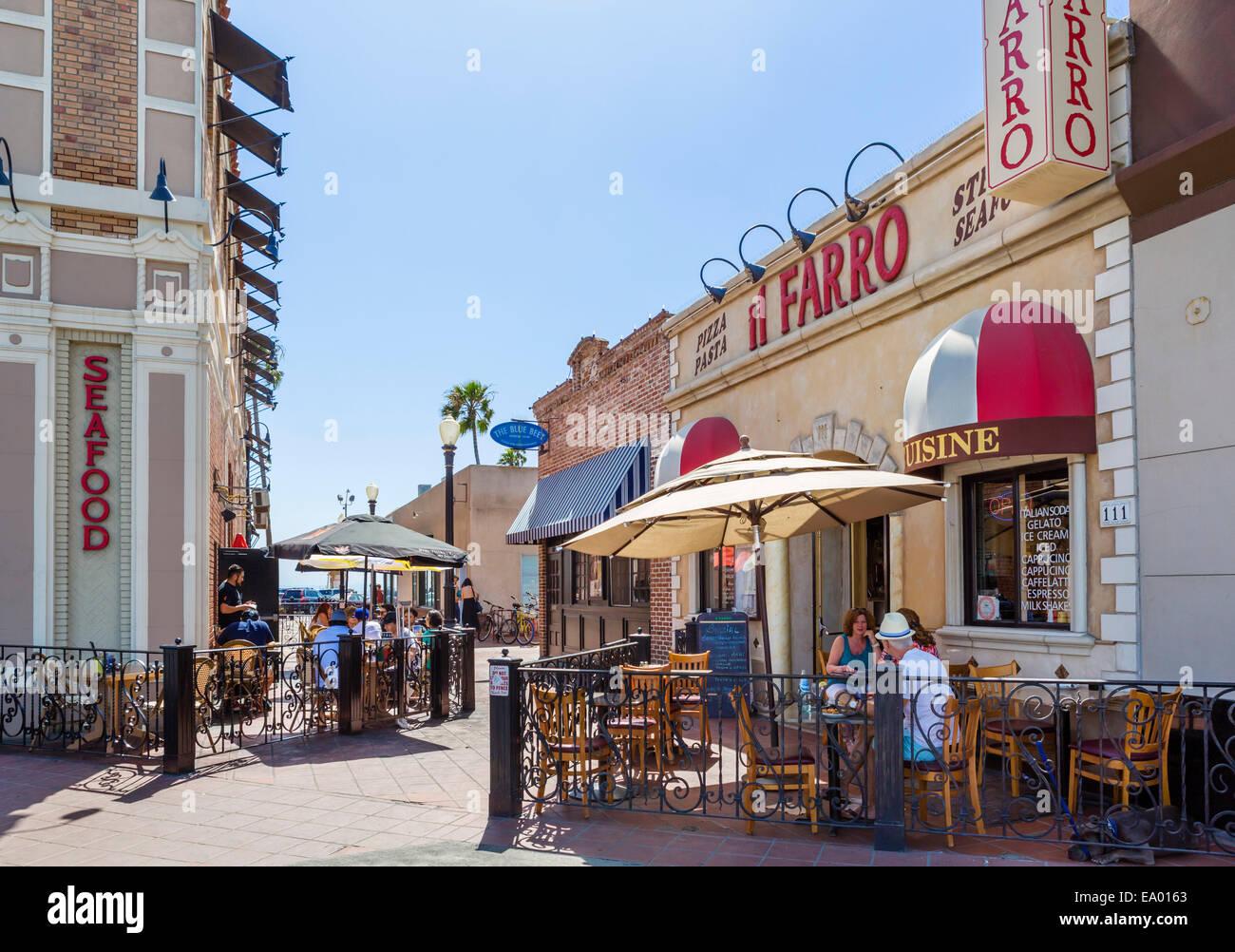 Newport Beach Boardwalk Restaurants