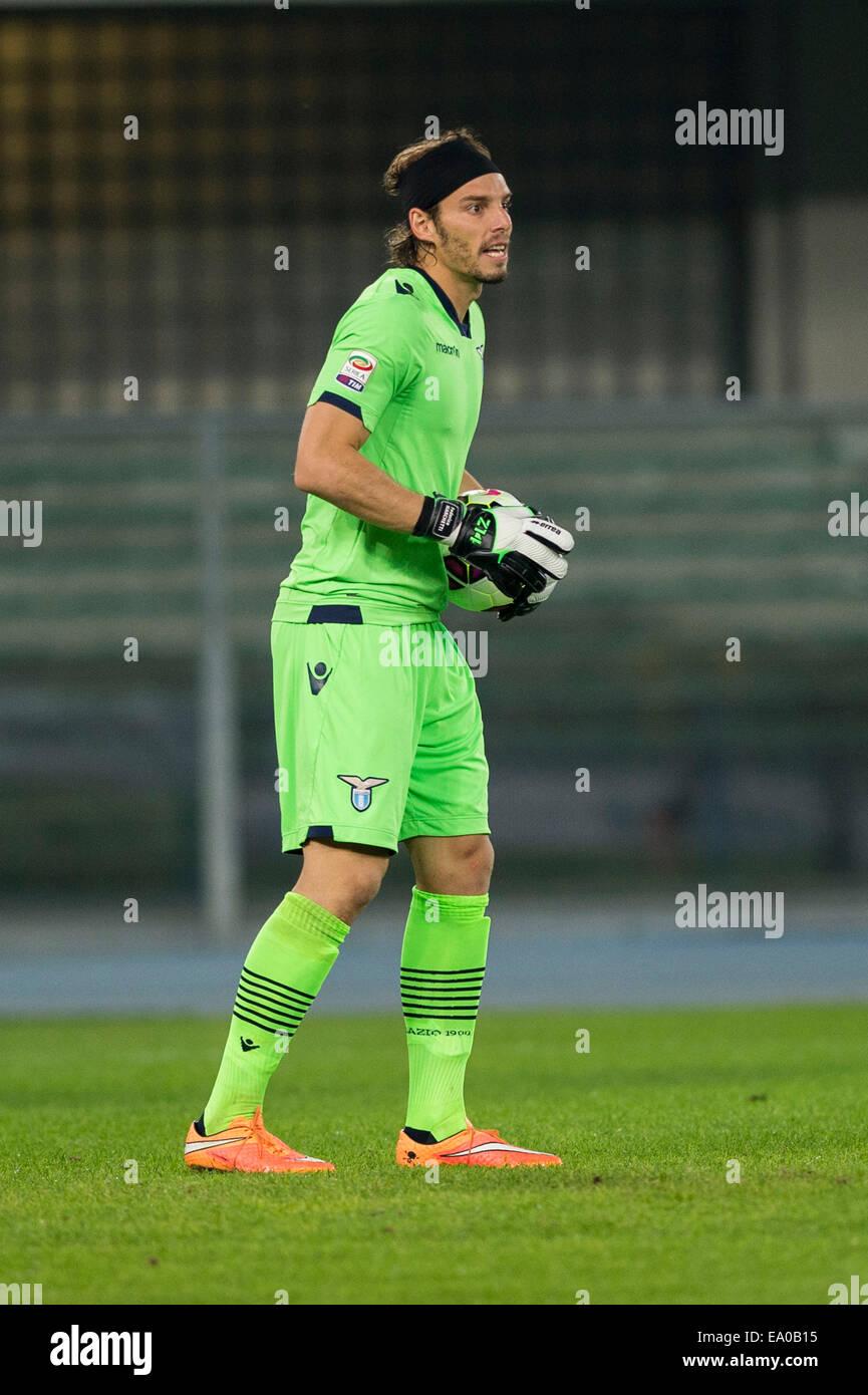 Verona Italy 30th Oct 2014 Federico Marchetti Lazio Stock