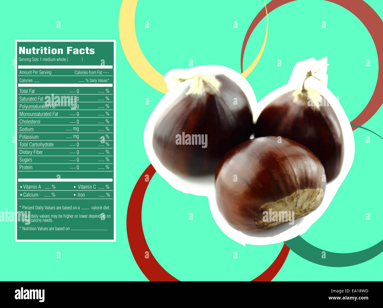 Sweet chestnuts nutrition facts Stock Photo, Royalty Free Image ...