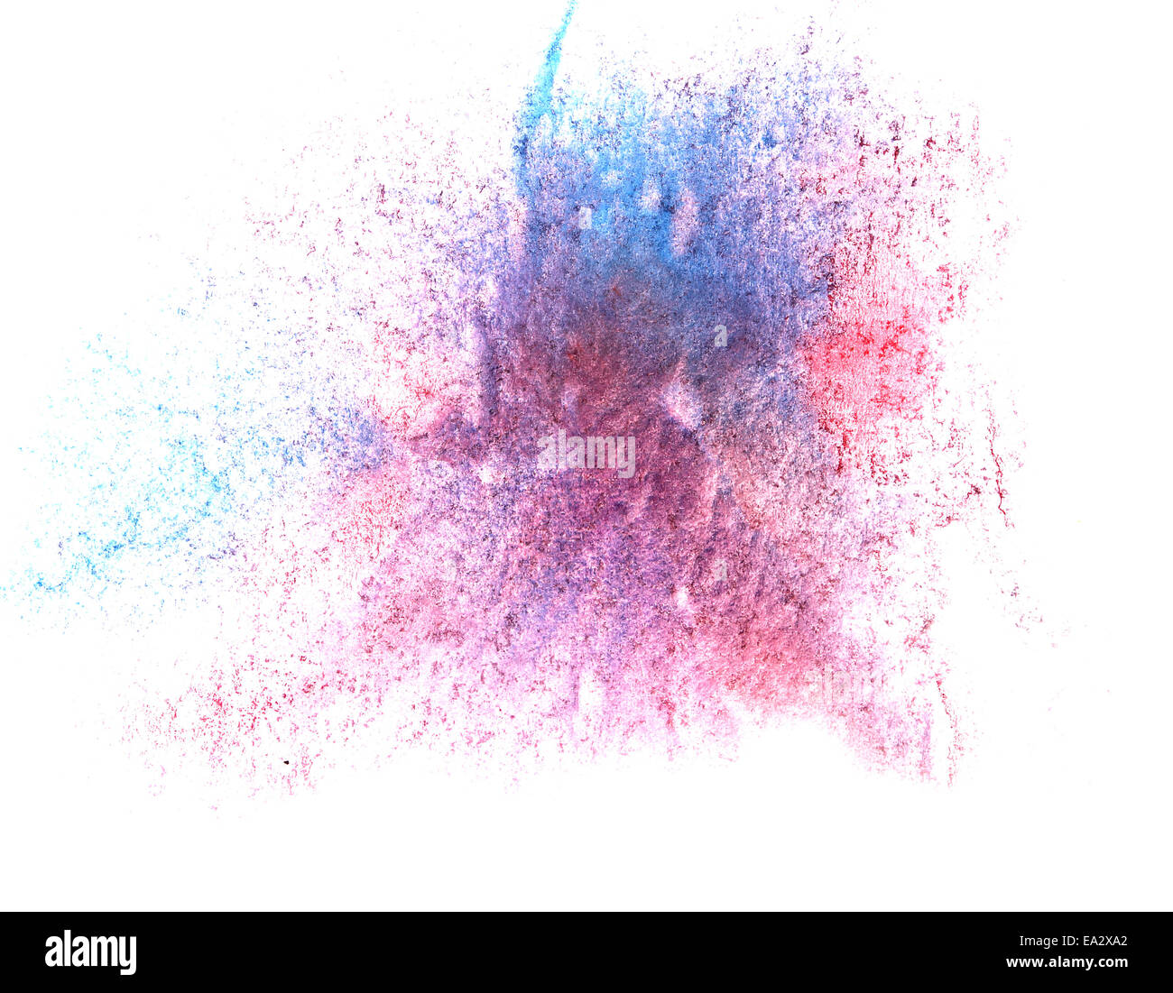 Drawing Red Lines With Blue Ink : Art watercolor red blue ink paint blob watercolour splash
