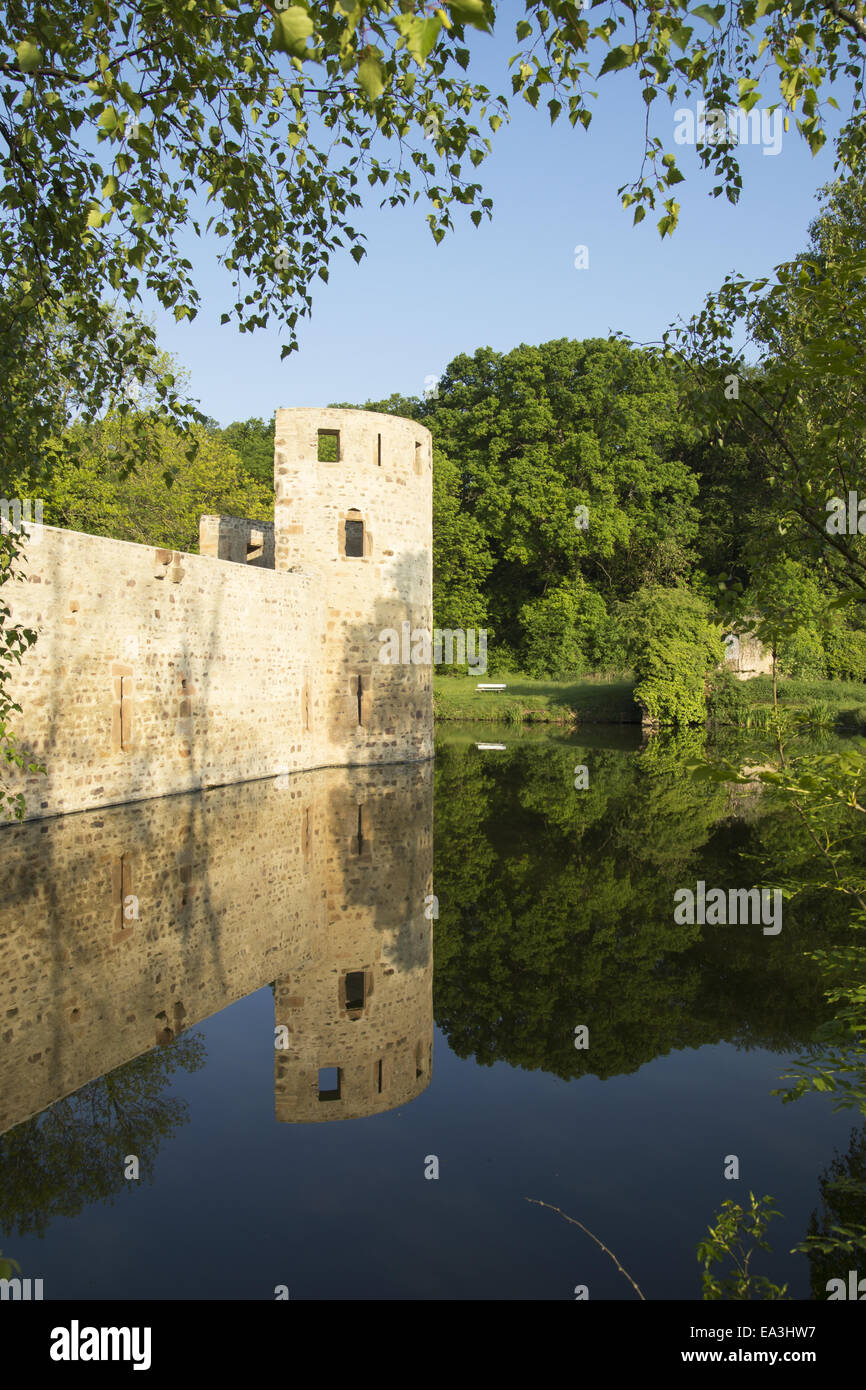 Castle veynau euskirchen wisskirchen germany stock photo royalty free image 75067923 alamy - Euskirchen mobel ...