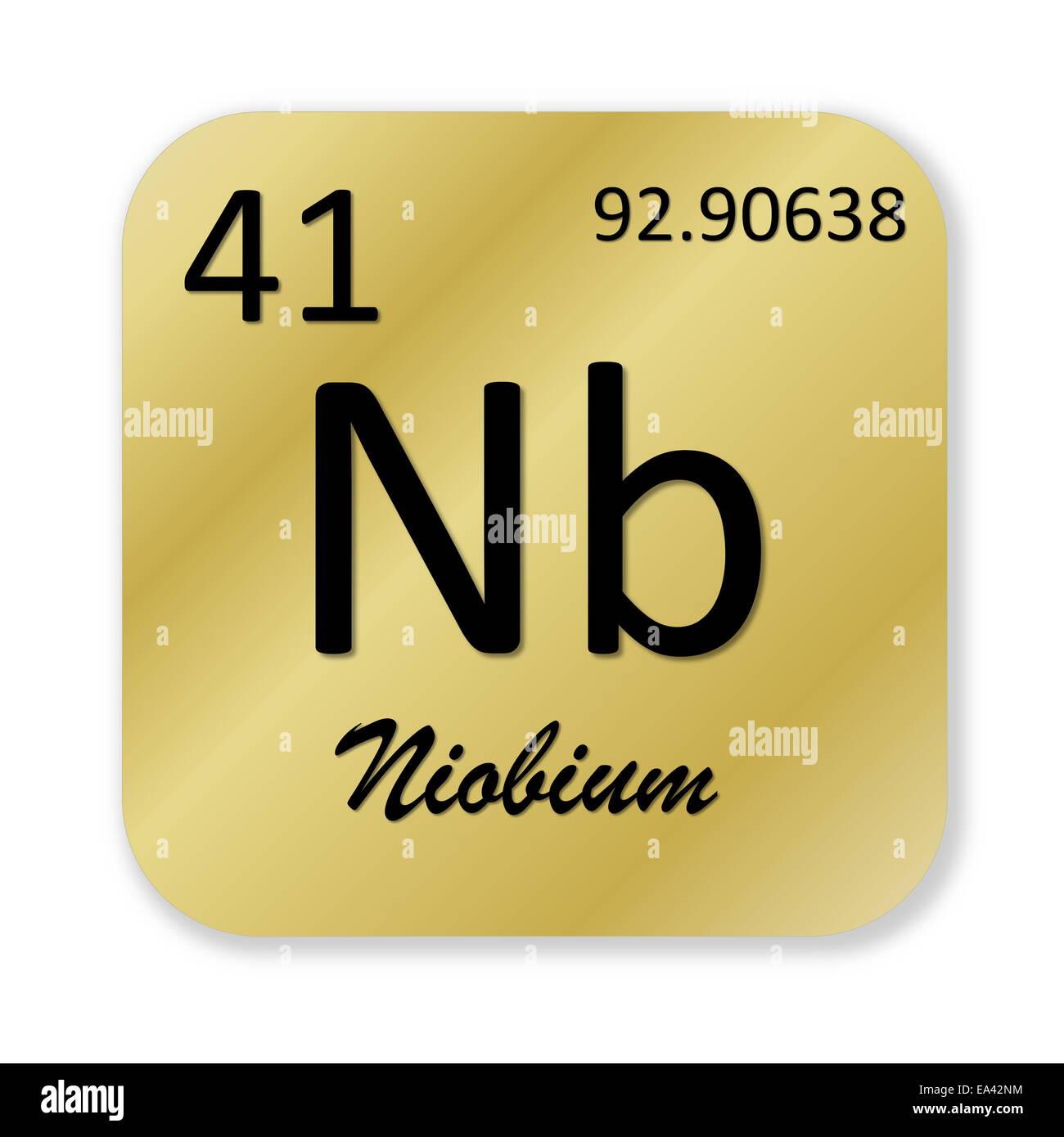 Niobium element stock photo royalty free image 75078016 alamy niobium element biocorpaavc