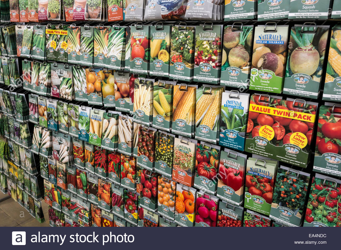 Charming Stock Photo   Vegetable Seed Packets On Sale At A Garden Centre