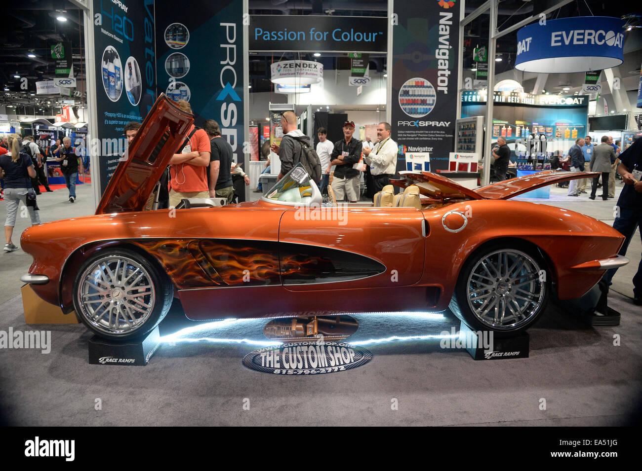 Las Vegas, Nevada, USA. 6th November, 2014. One of the many custom ...