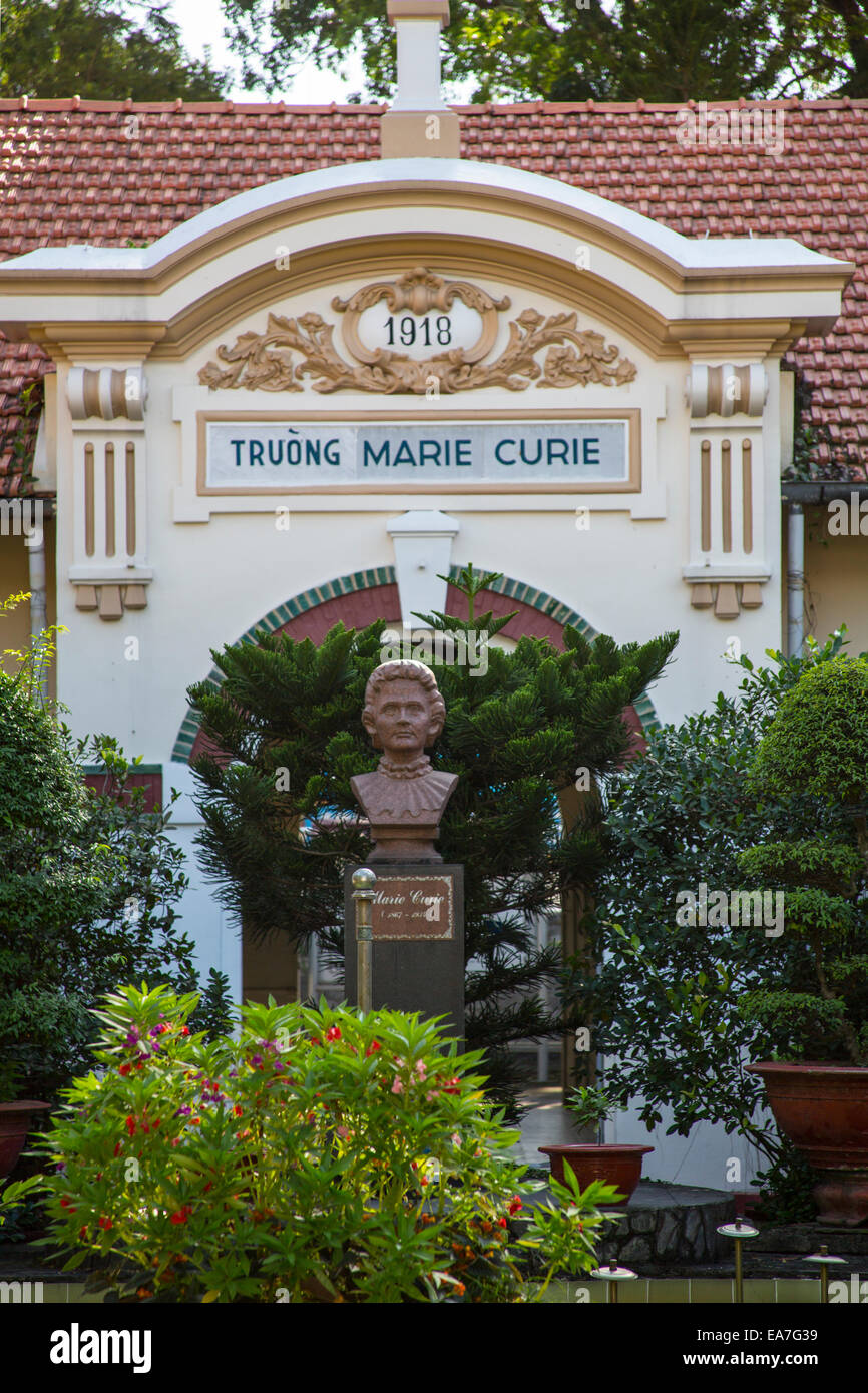 Marie Curie High School, Ho Chi MInh City Stock Photo, Royalty ...
