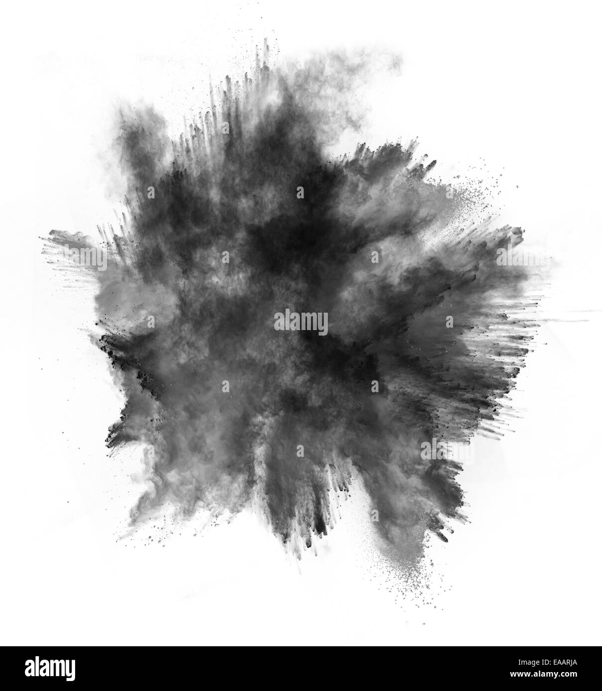 Explosion Black And White
