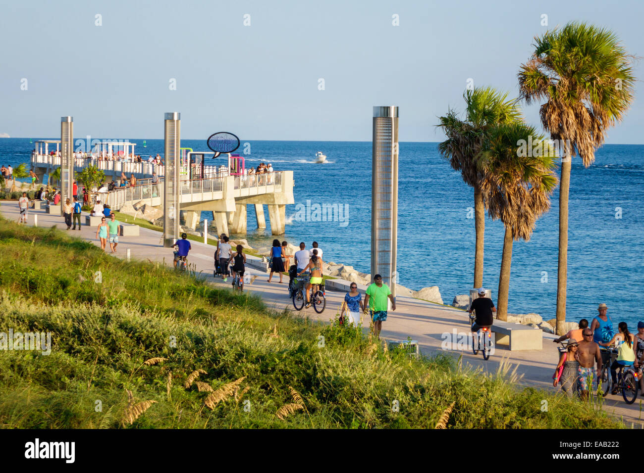 28 miami beach florida pier one things to do in for Miami fishing piers