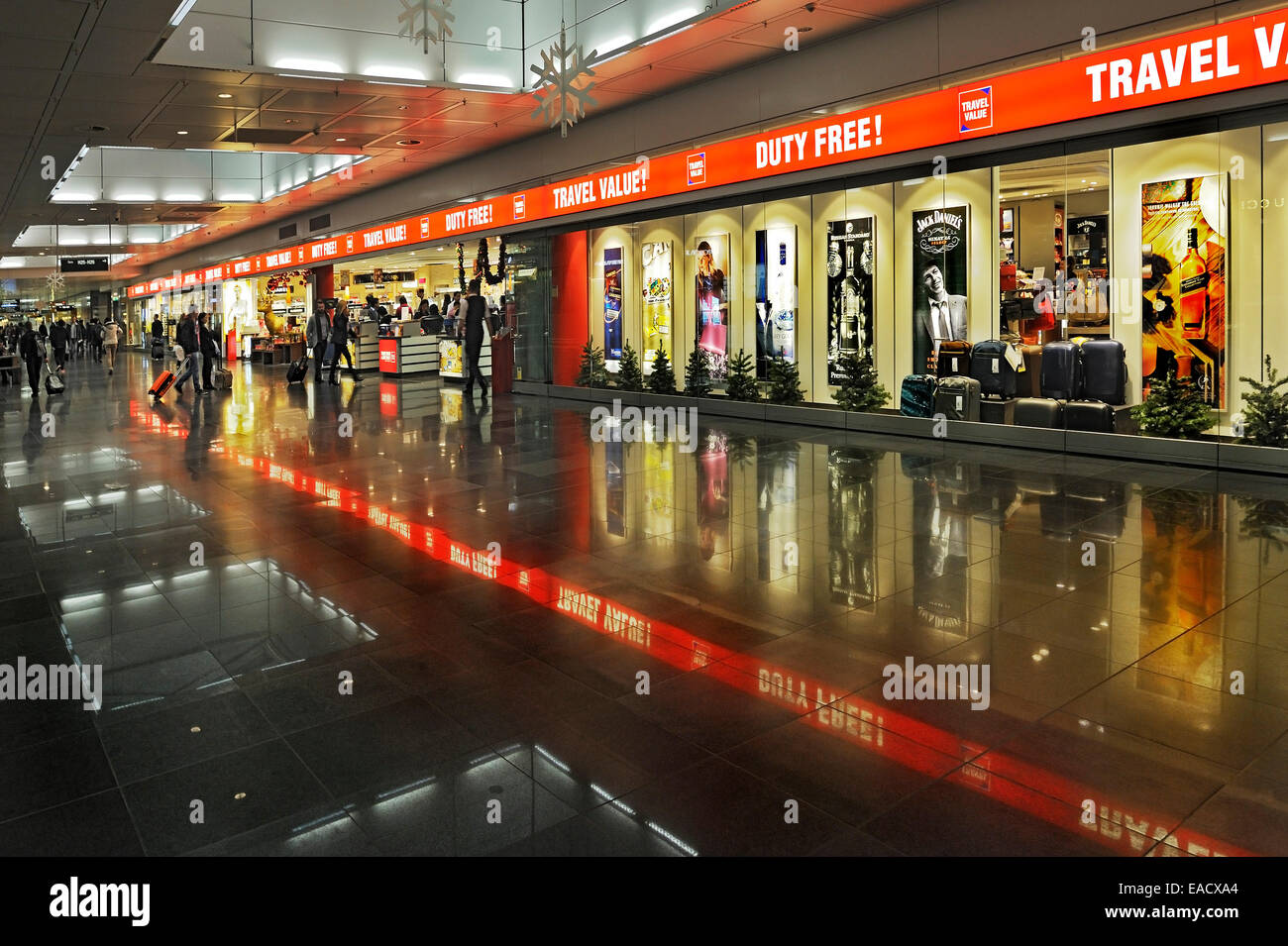 duty free shops munich airport franz josef strauss airport munich stock photo royalty free. Black Bedroom Furniture Sets. Home Design Ideas