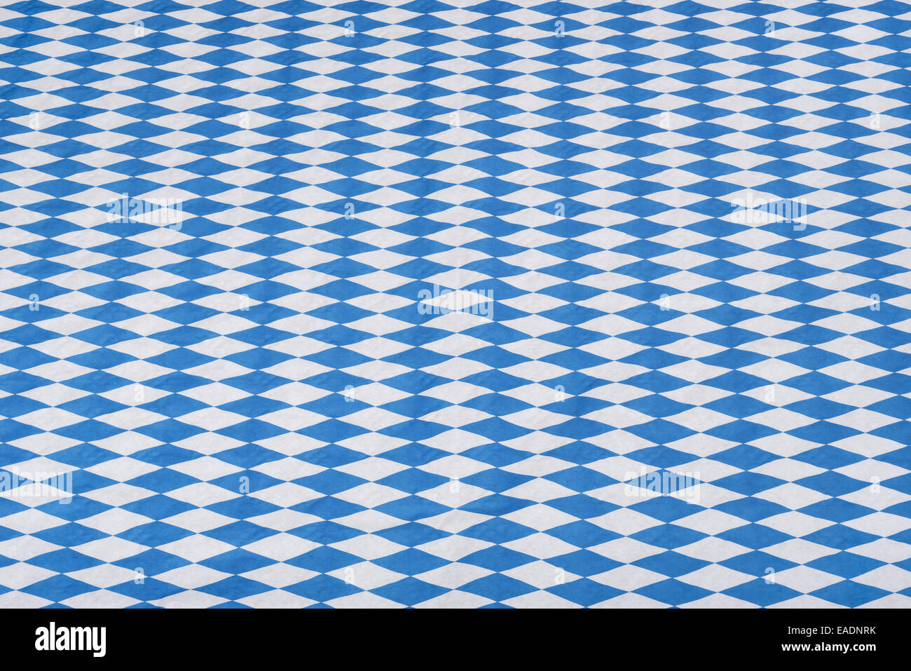 Blue tablecloth background - Stock Photo Typical Blue White Bavarian Munich Festival Oktoberfest Tablecloth Background