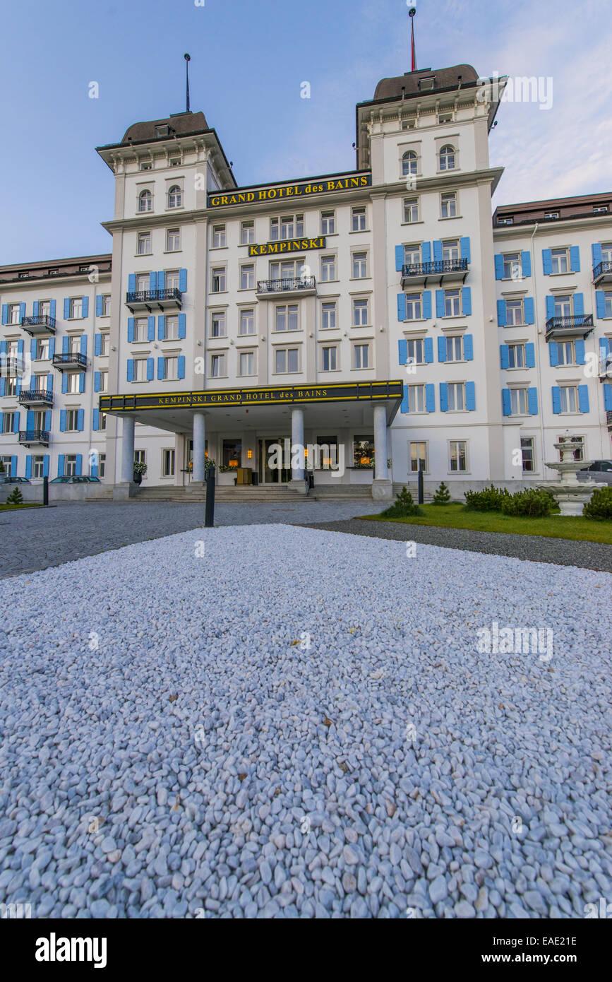 Kempinski grand hotel des bains st moritz schweiz for Grand hotel des bains 07