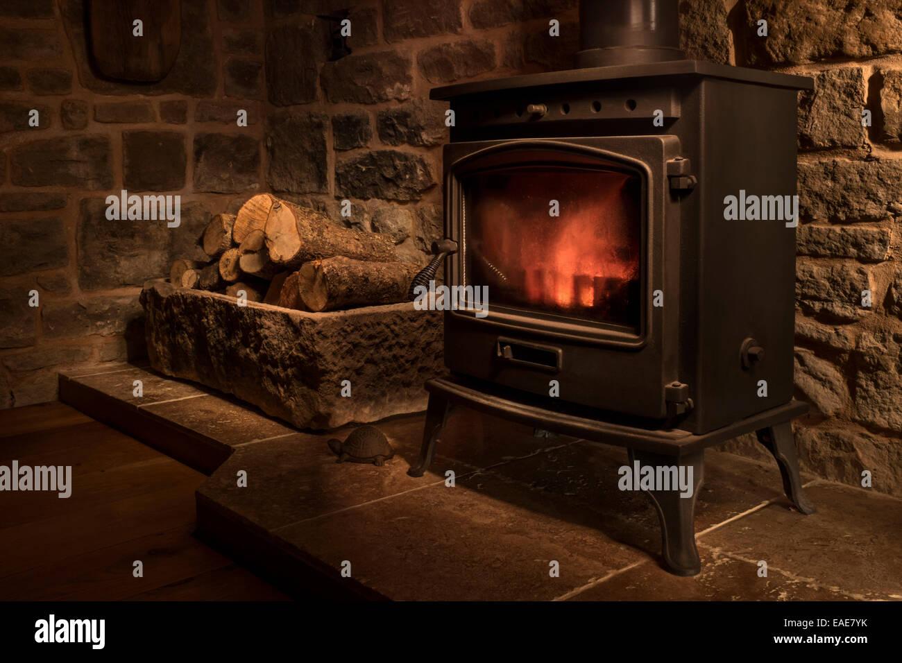 Wood Burning Stove Stock Photos & Wood Burning Stove Stock Images ...