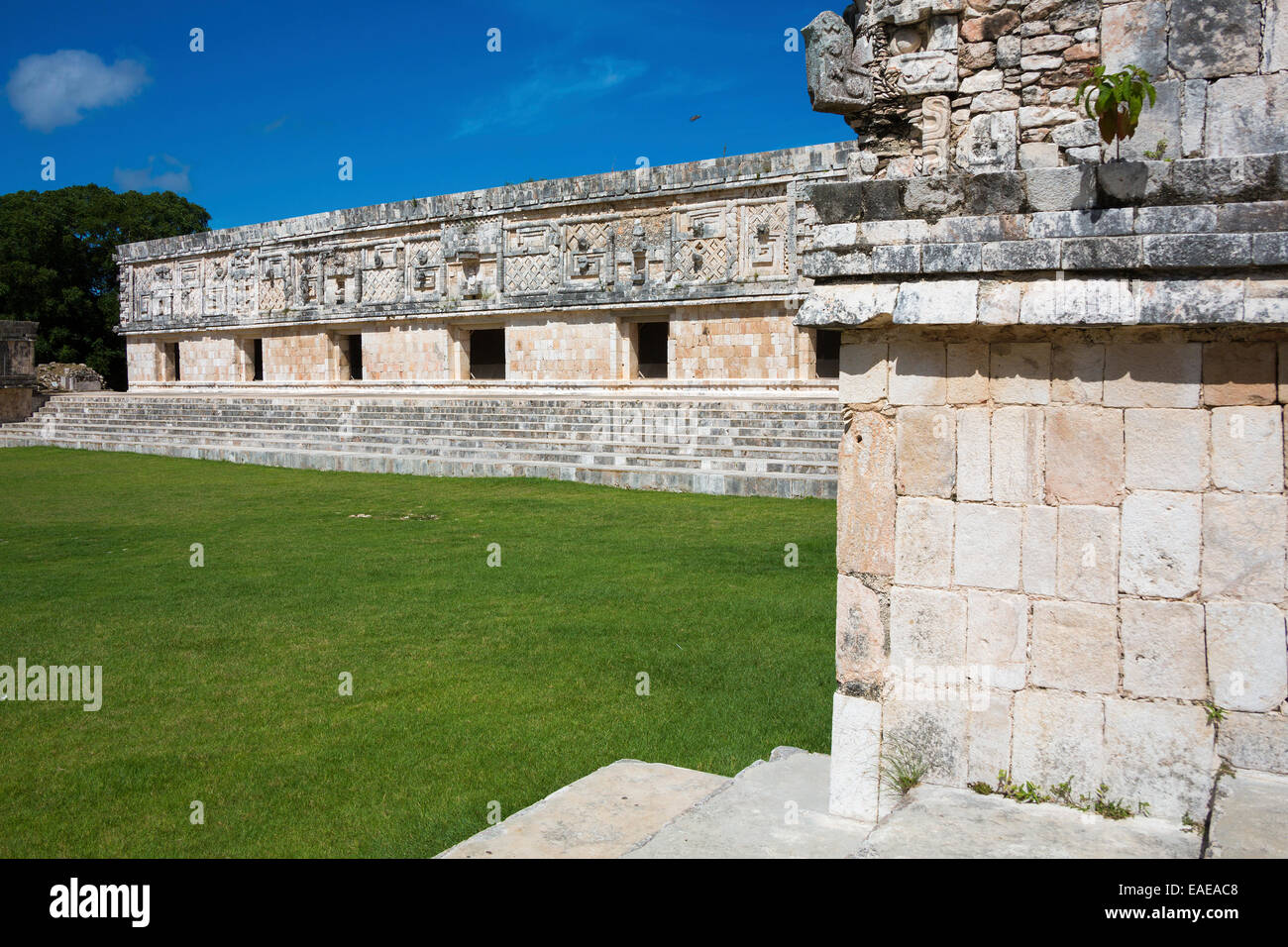 Uxmal Location