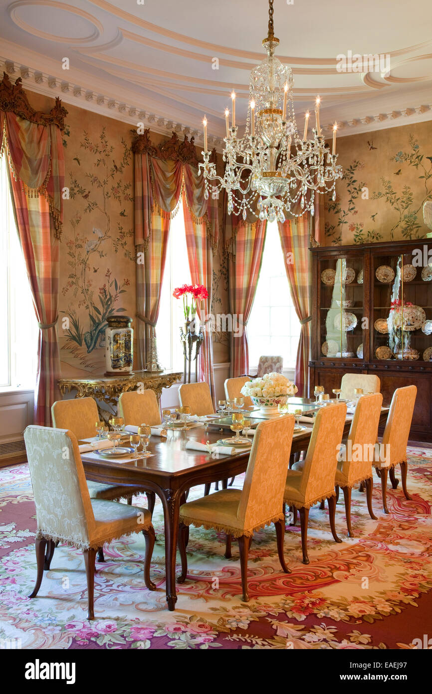 Formal Dining Room Of Swan House Atlanta Georgia