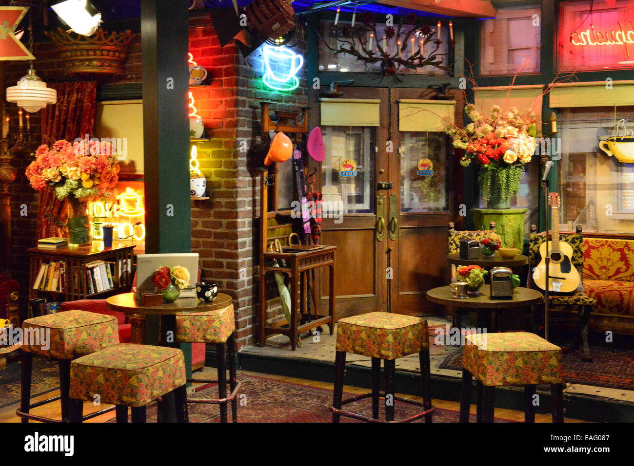 Warner Brothers Set For Friends Central Perk Bar Stock