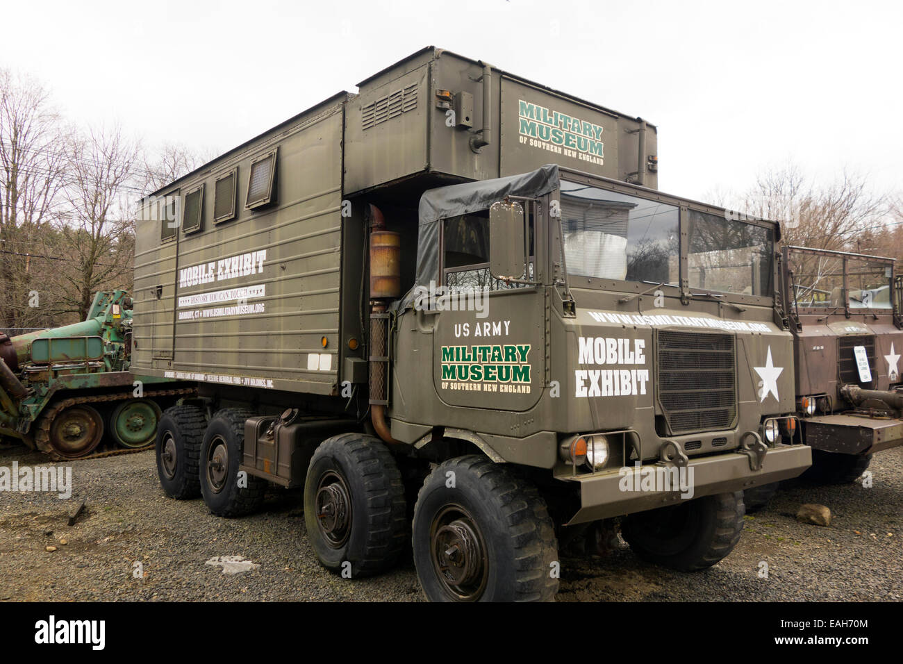 Military Museum Of Southern New England In Danbury CT Stock Photo - Military museums in us
