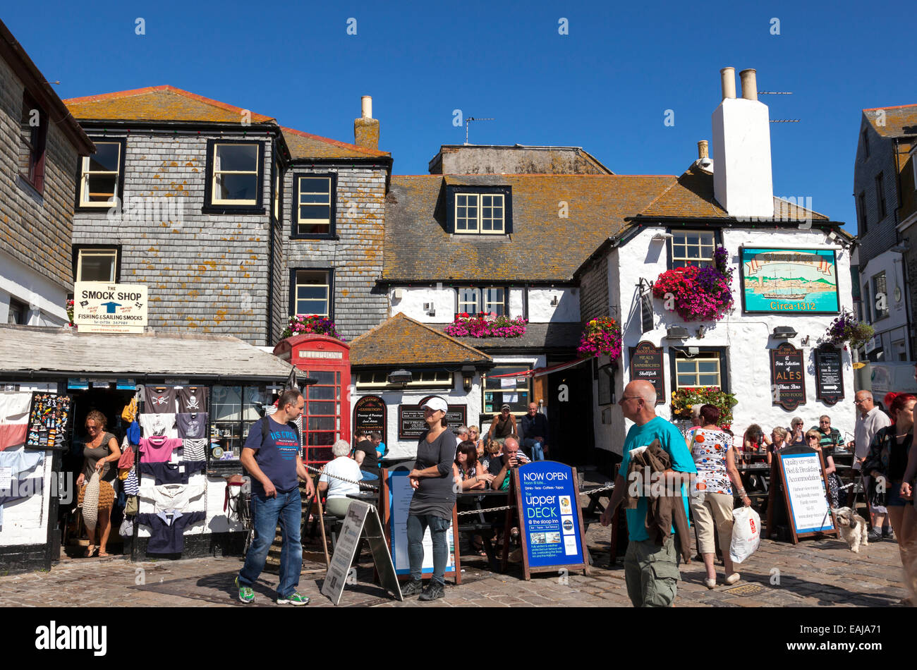 The sloop inn st ives cornwall england u k stock photo for The ives