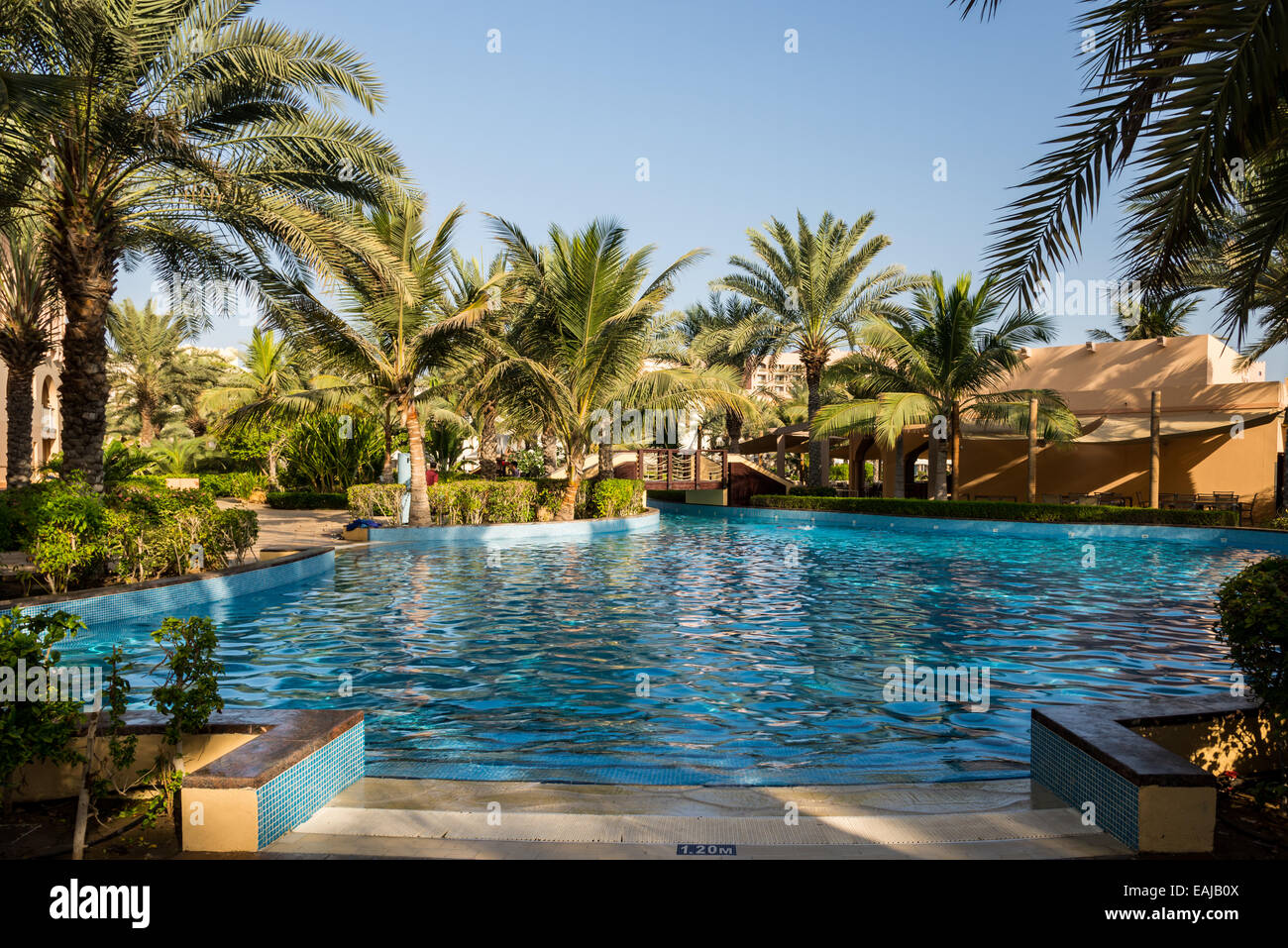 Water park and swimming pools at a luxury resort muscat for Hotel luxury oman