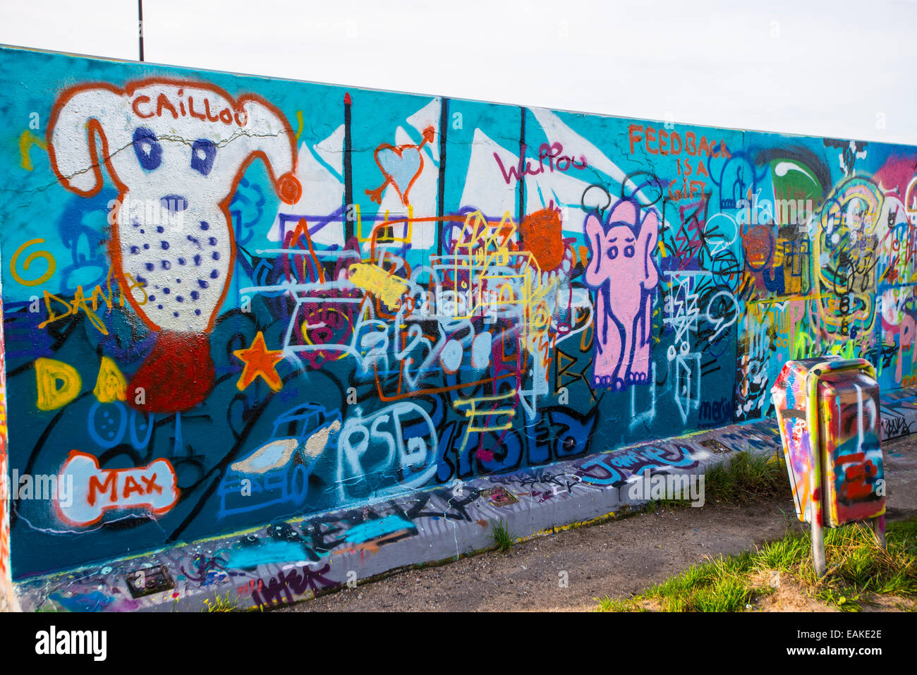 Graffiti wall at skate ramp on java eiland in amsterdam harbor graffiti wall at skate ramp on java eiland in amsterdam harbor netherlands altavistaventures Images