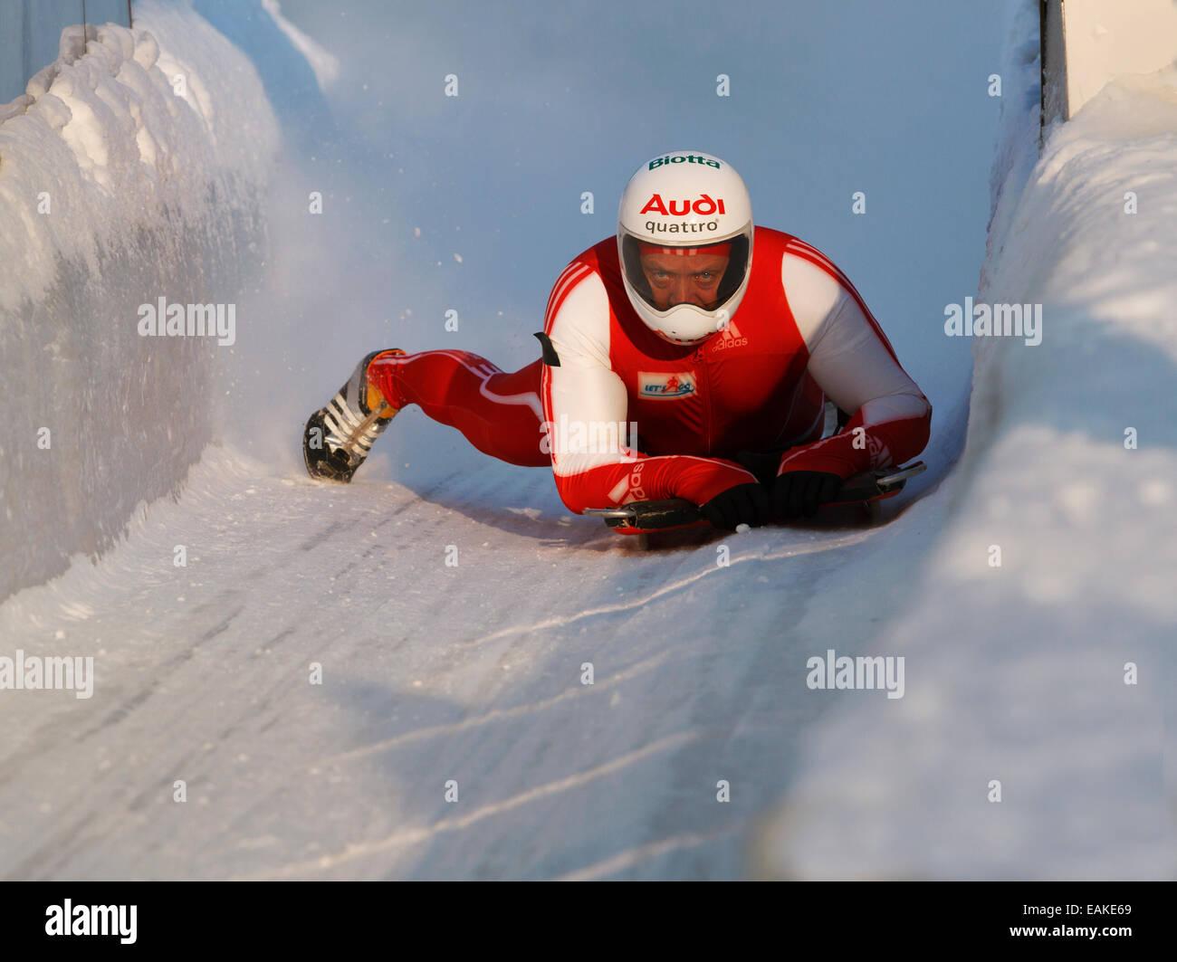Olympic skeleton sled
