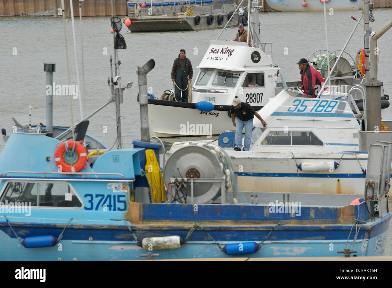 Alaska dillingham county - Bristol Bay Set Net Commercial Fishing Boat Moored At Dillingham Alaska Stock Image