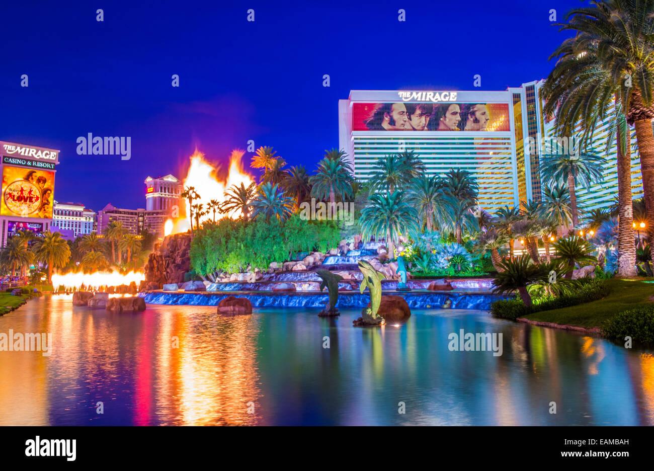 Mirage resort & casino in las vegas nv