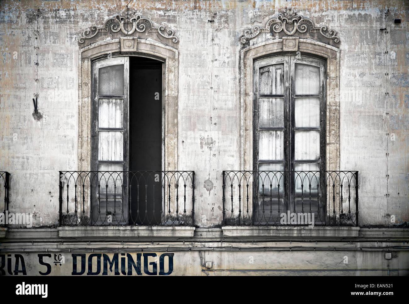 superb elegant windows #2: Sad but elegant windows, Almeria, Spain