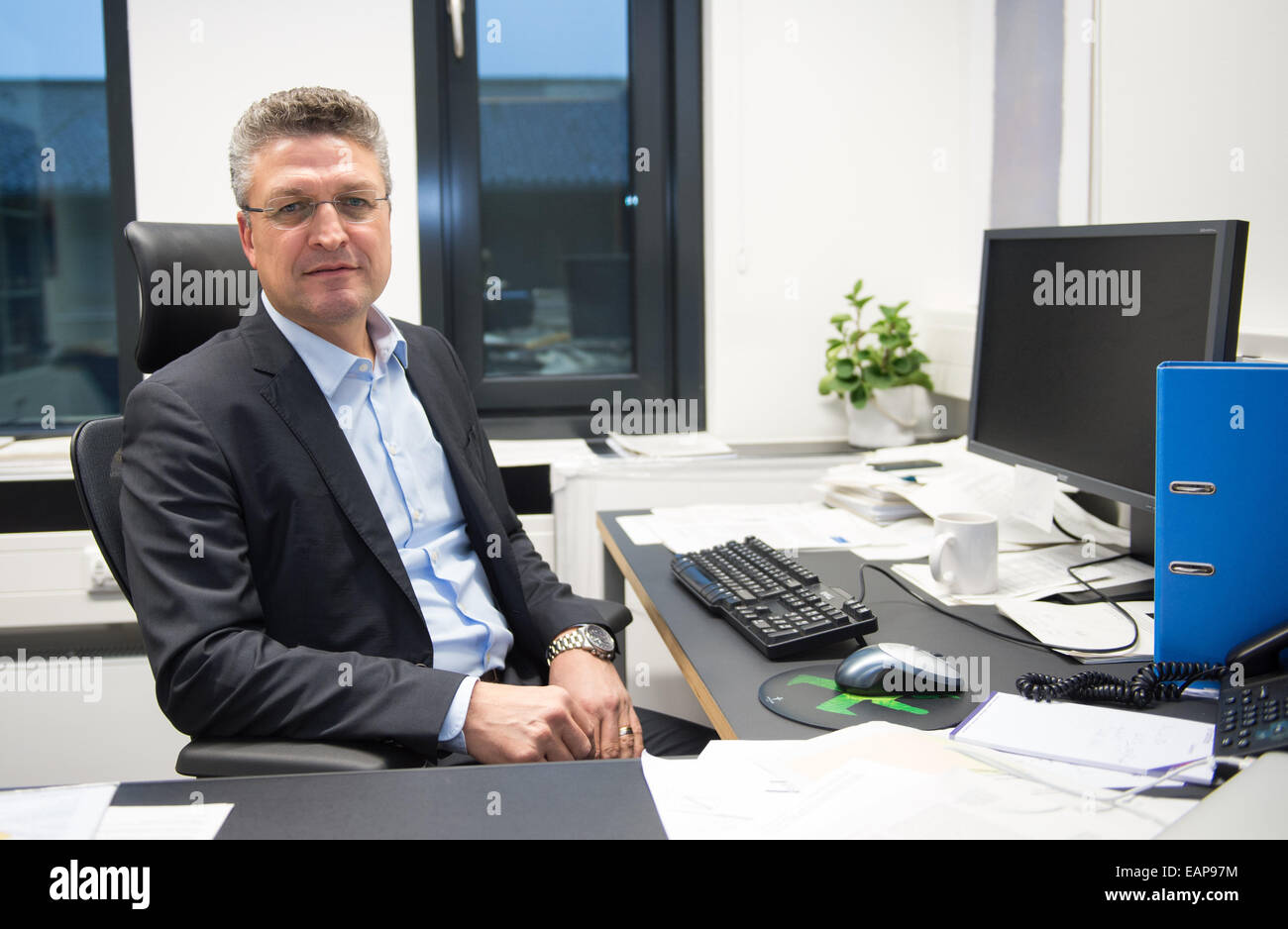 Great Lothar H. Wieler Stands In His Institute In Berlin, Germany, 19 November  2014. The 53 Year Old Berlin Scientist Will Be The New President Of The  Robert Koch ...