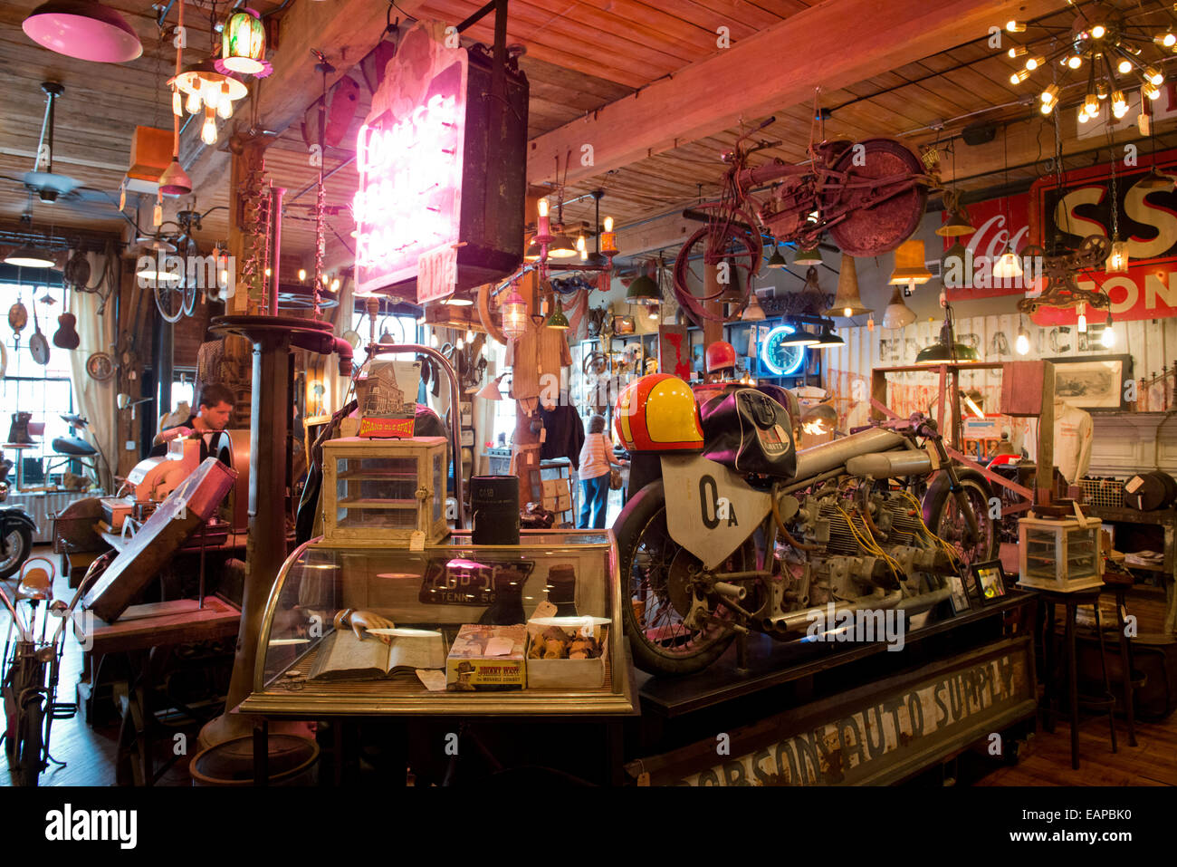 Antique archaeology nashville tennessee stock photo for Antique stores in nashville