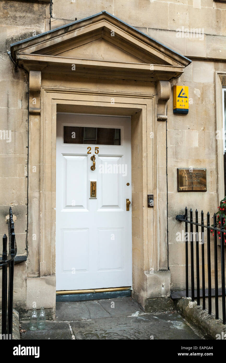 Exterior front door outside of 25 gay street bath for Outer doors for homes