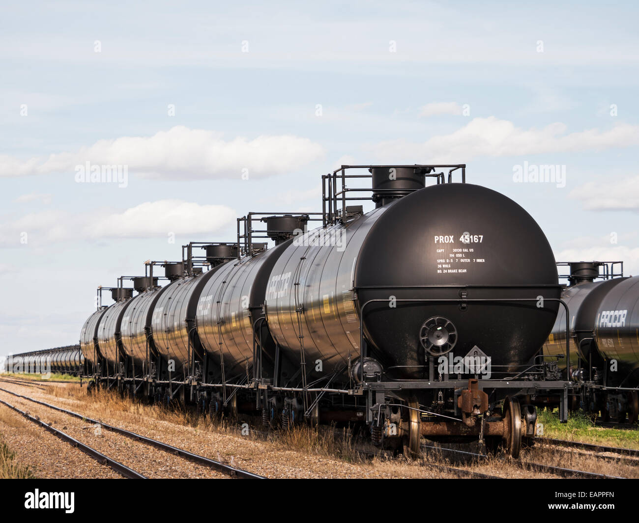 Railway Tanker Cars Used To Transport Liquid And Gaseous