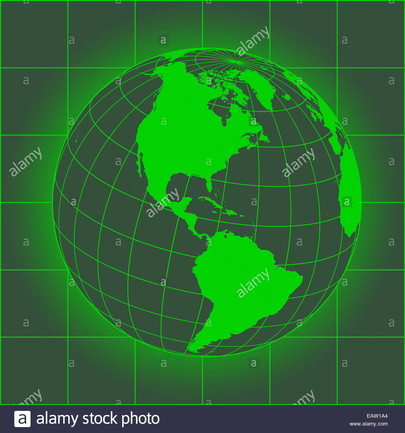Green north america map europe greenland north pole south green north america map europe greenland north pole south america earth globe old style map of the world gumiabroncs Choice Image