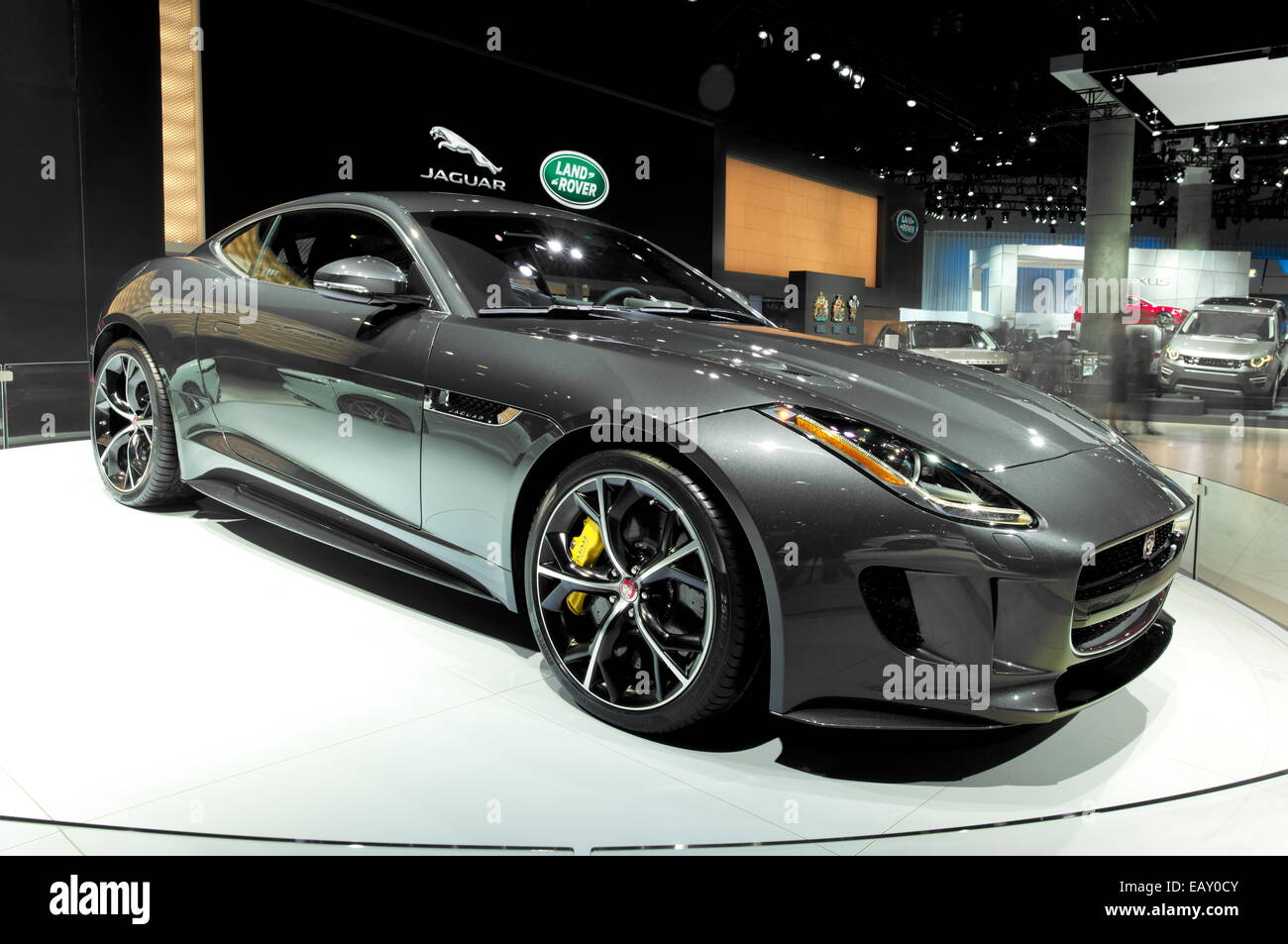 Jaguar FType Coupé AllWheelDrive R Credit J Stock Photo - All wheel drive jaguar