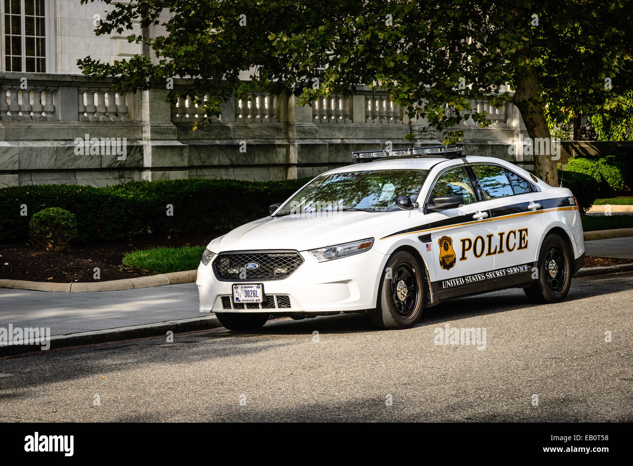 Stock Photo - United States Secret Service Police Ford Taurus Police Car Washington DC & United States Secret Service Police Ford Taurus Police Car Stock ... markmcfarlin.com