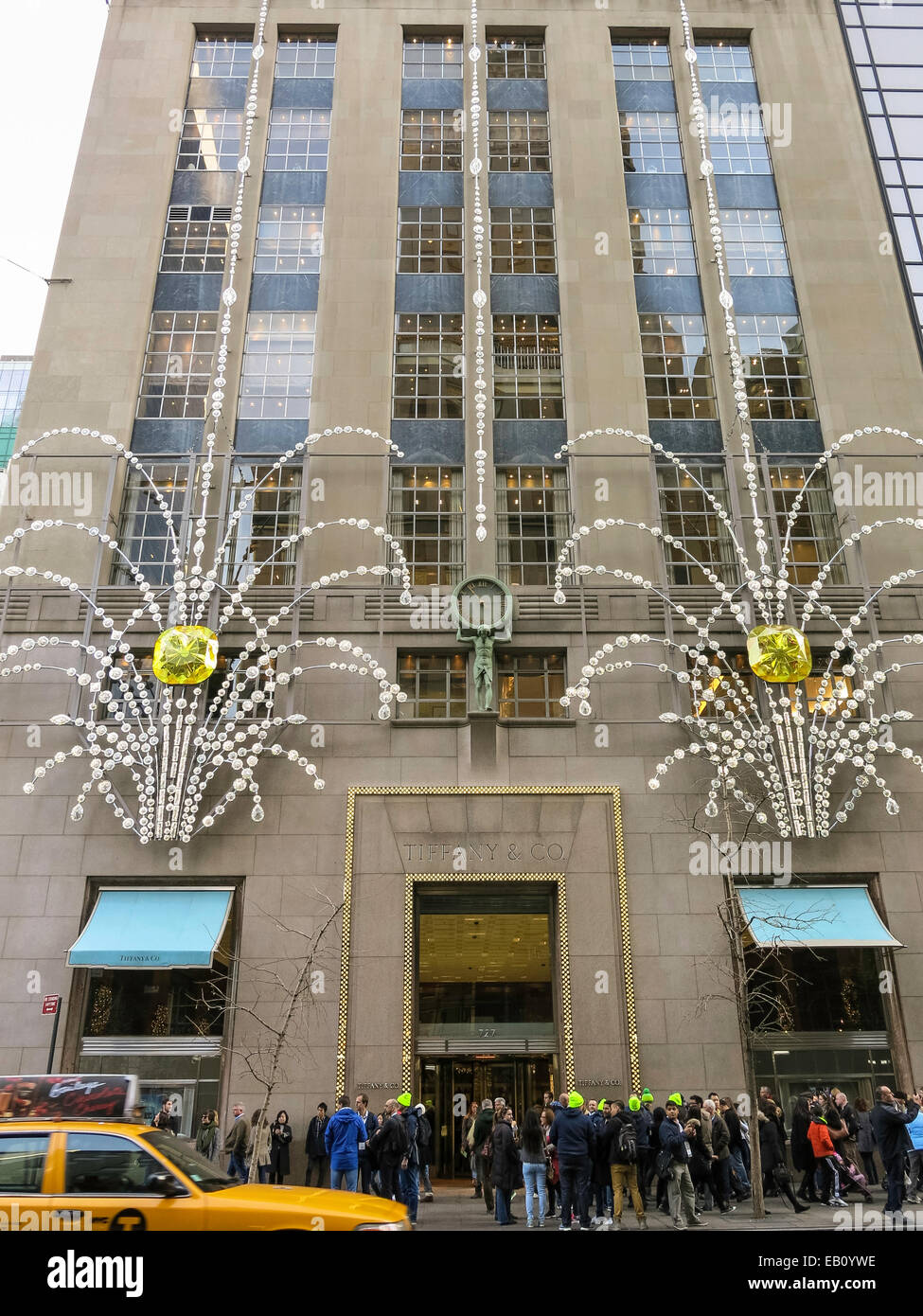 Tiffany & Co., Jewelry Store, Holiday Decorations, NYC