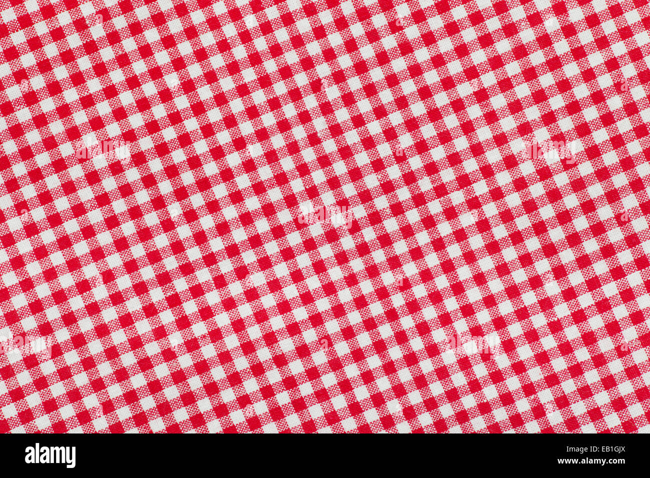 Red And White Checkered Picnic Tablecloth Background, Texture