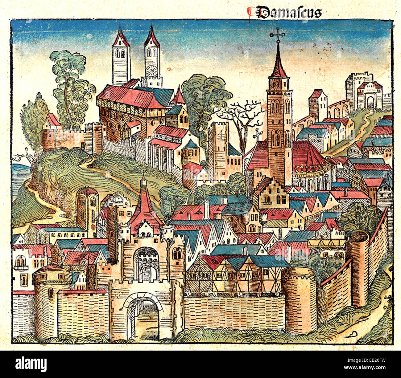 Ancient Medieval Literature: Damascus As Shown In The Book