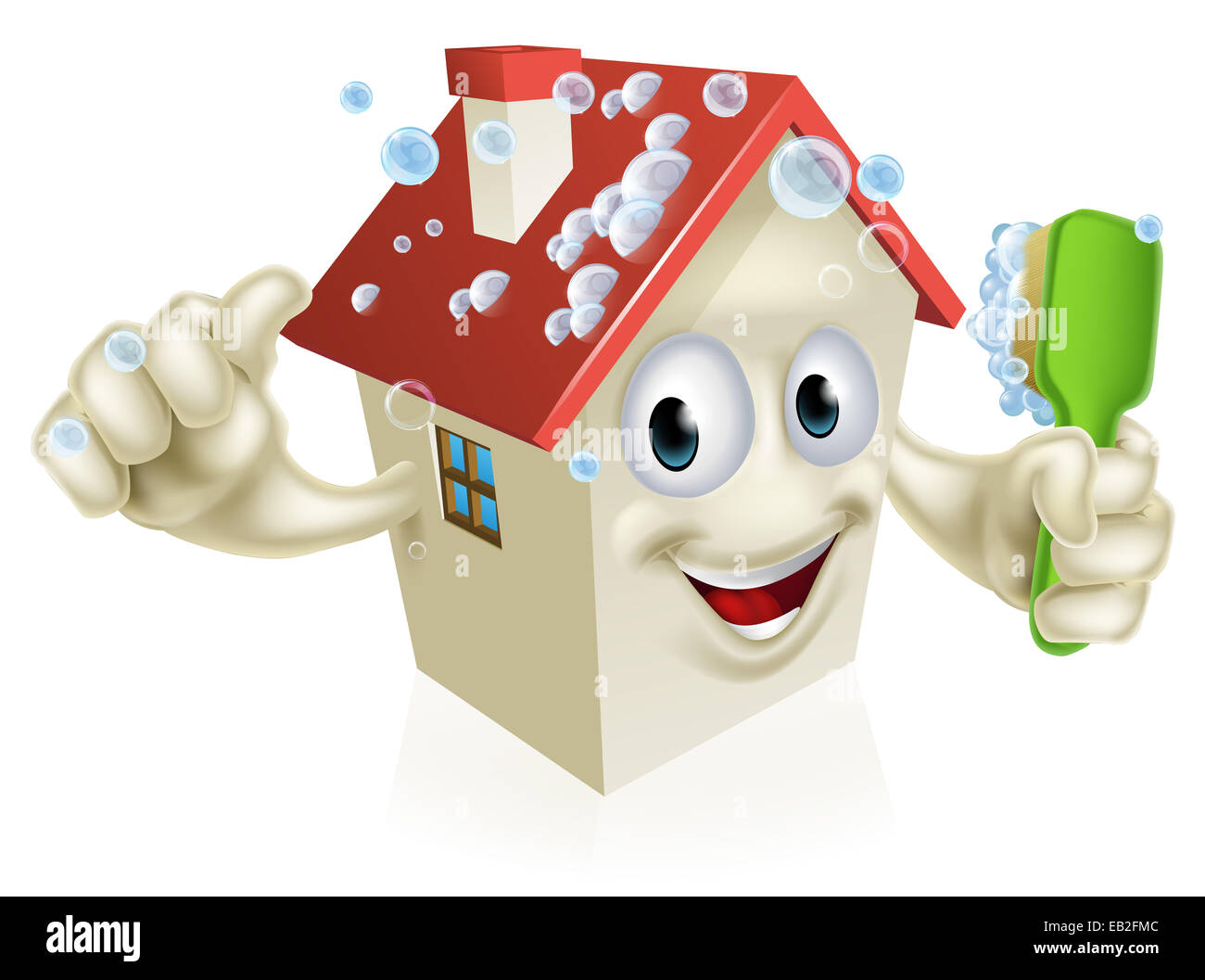 Cartoon pictures of house cleaning