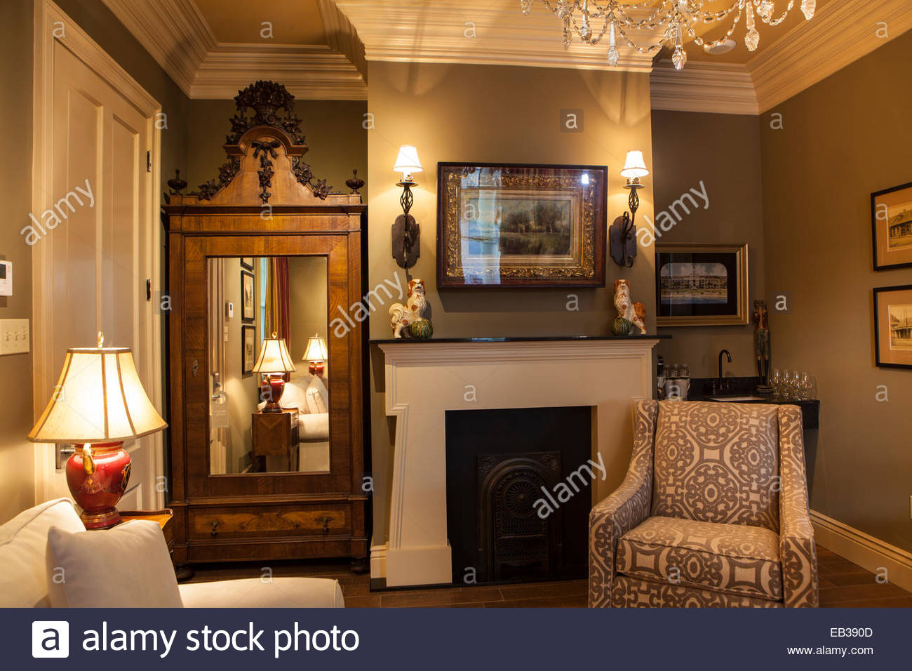 A Room At A Guest Cottage Of The Houmas House Plantation And Gardens Stock Photo Royalty Free
