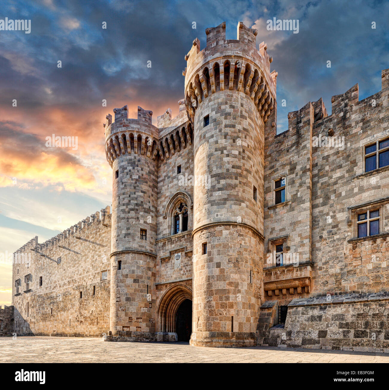 The Palace of the Grand Master of the Knights is a ...