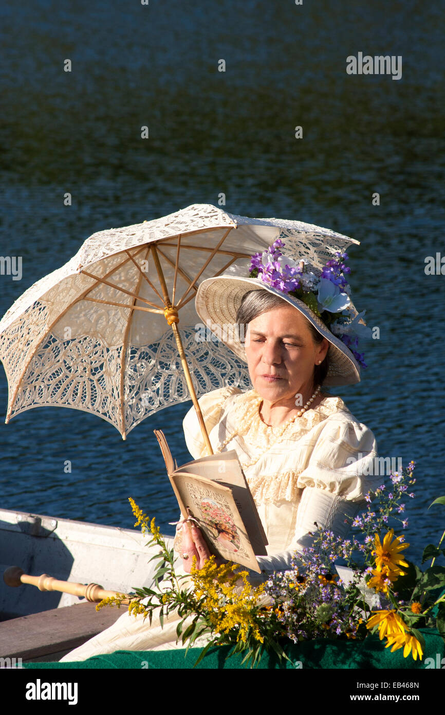 Worksheet Reading Boat a victorian woman in row boat reading stock photo royalty free reading