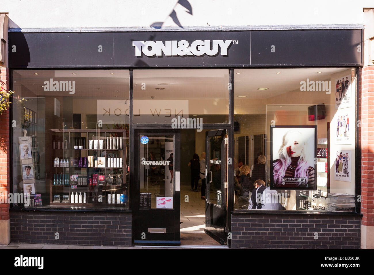 The toni guy hair salon in durham england britain for Salon tony and guy