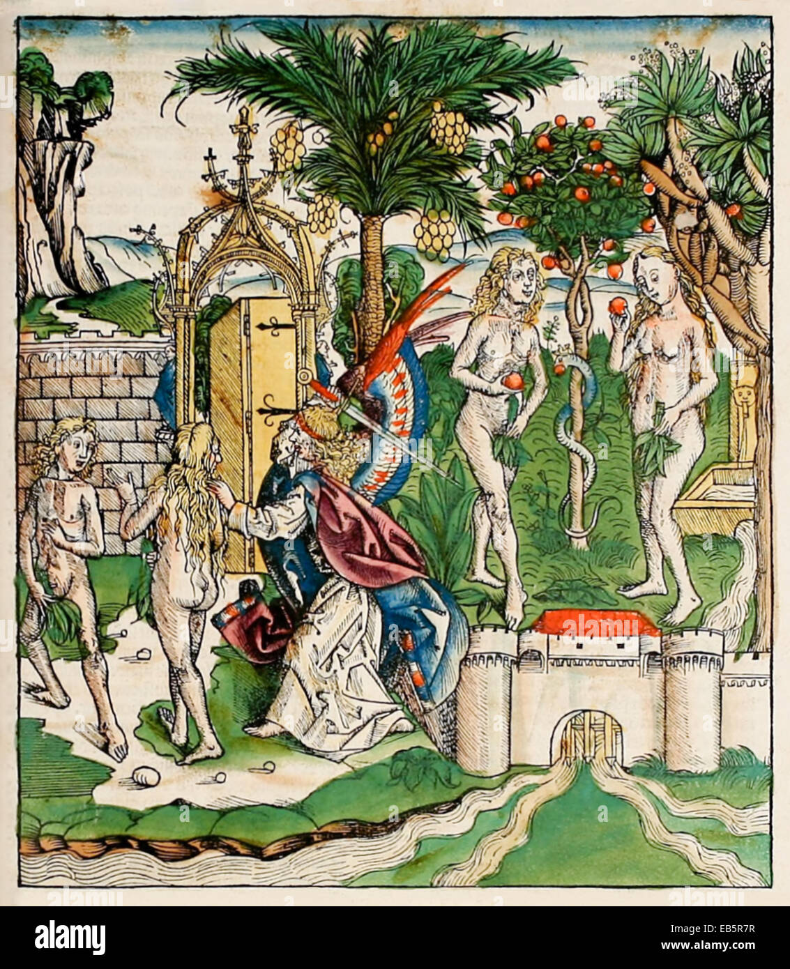 banishment of adam and eve god banishes adam and eve from the