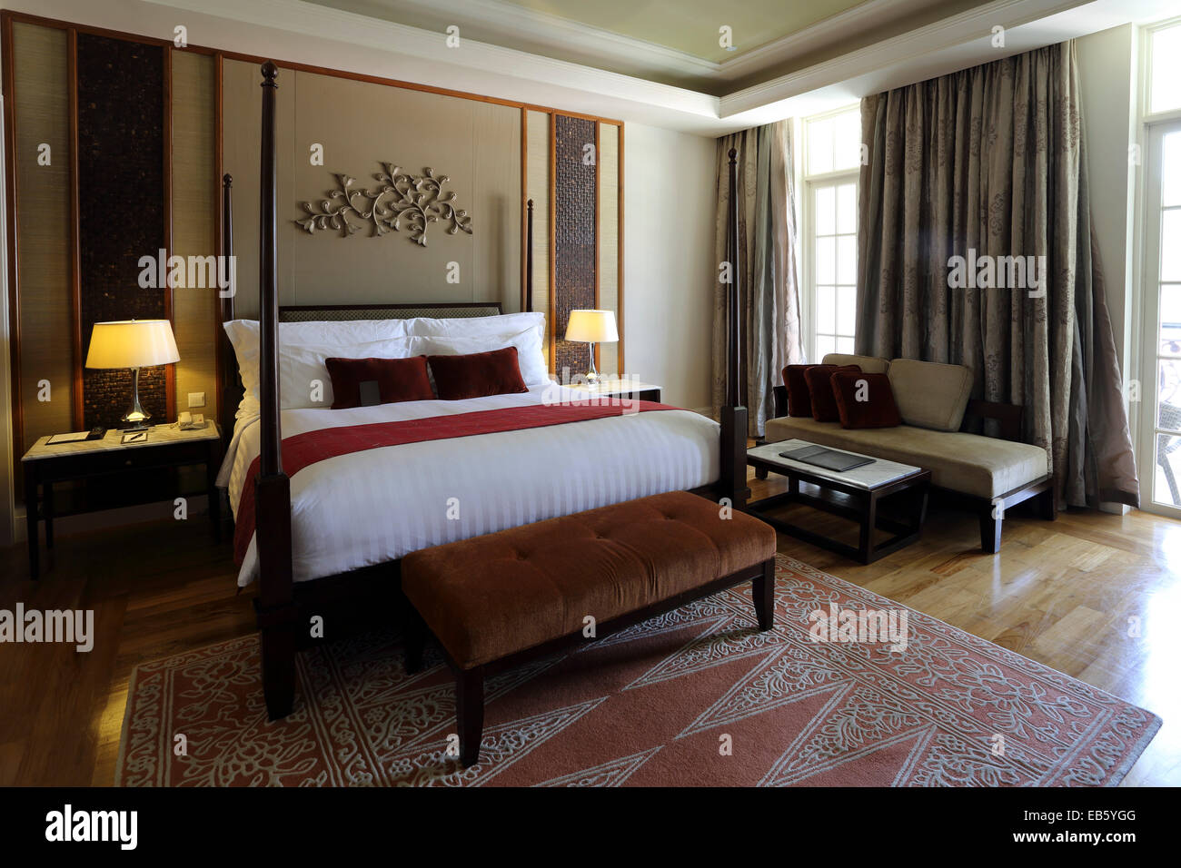 4 poster bedroom designs - A Bedroom With A 4 Poster Bed At The Danna Hotel On Langkawi Malaysia