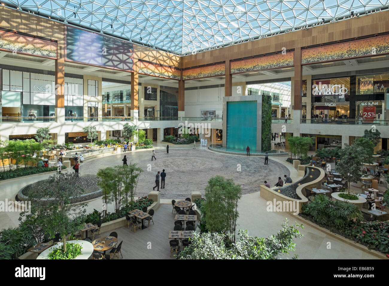 new yas mall shopping centre on yas island in abu dhabi united arab stock photo 75743173 alamy. Black Bedroom Furniture Sets. Home Design Ideas