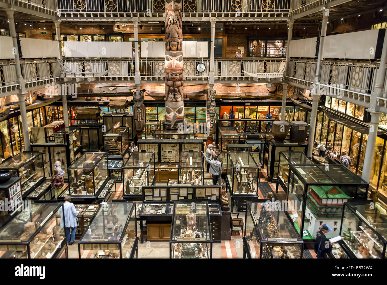 The Pitt Rivers Museum Is A Museum Displaying The