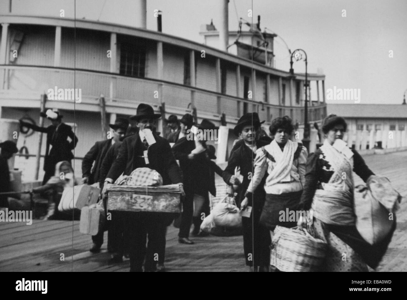 Who Was The First Immigrant To Arrive At Ellis Island