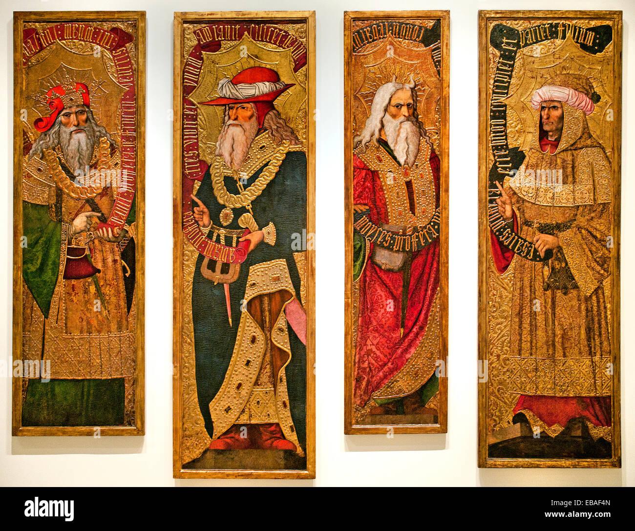 abraham moses david isaiah bible joan gascó 1500 1529 navarra