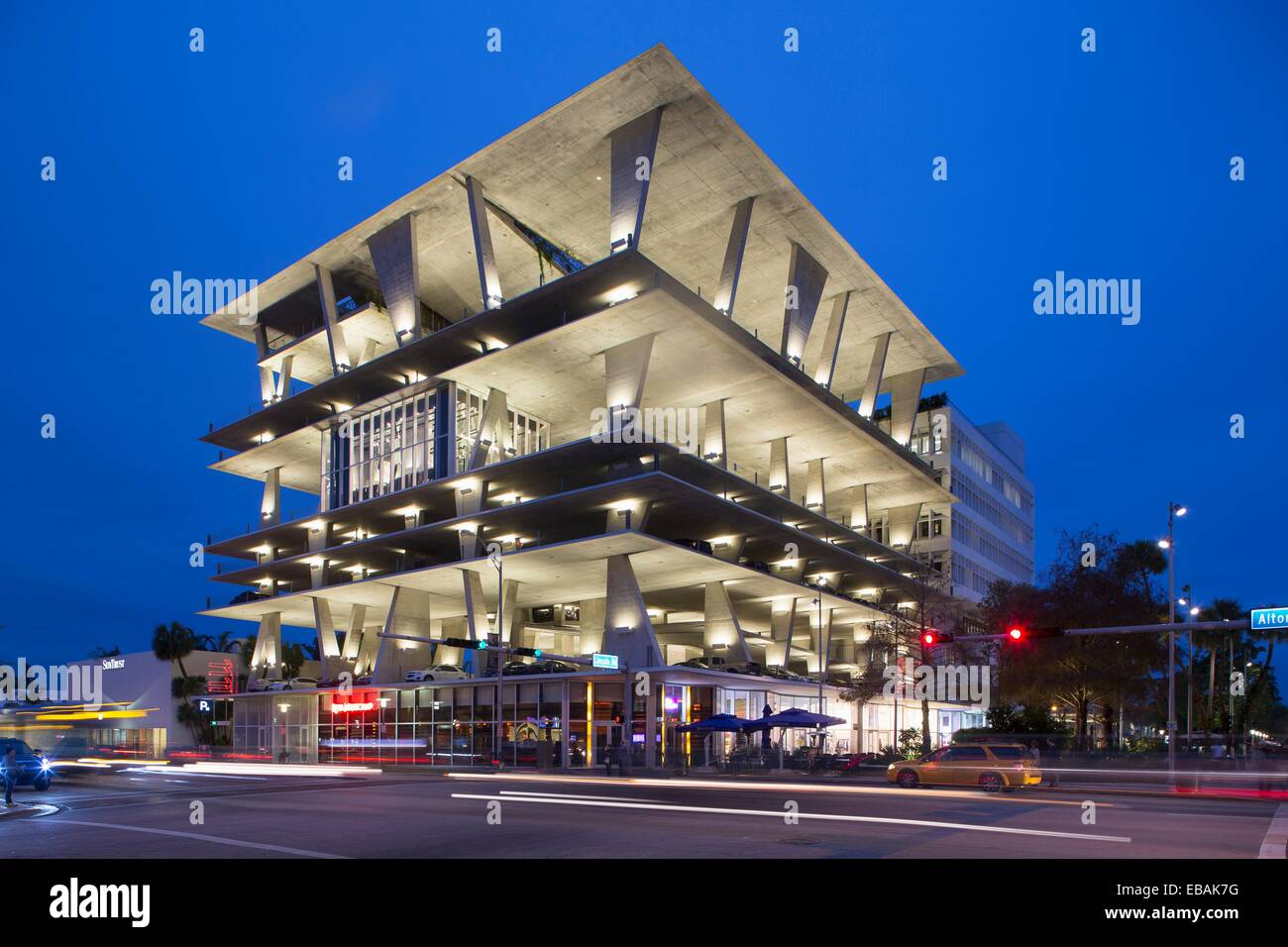 Parking garage at 1111 lincoln road miami beach miami Architect florida