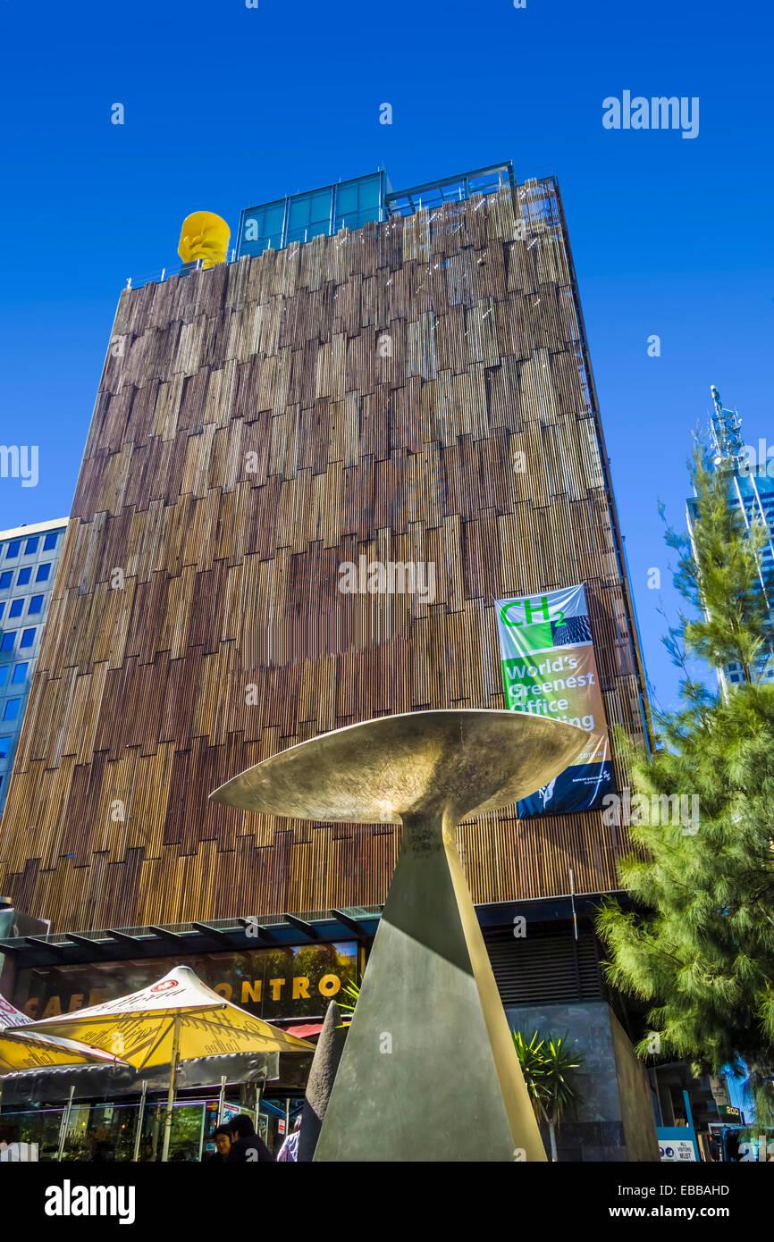 sustainable office building. Council House 2 (CH2) Is A Highly Sustainable Office Building Designed By City Of Melbourne \u0026 Design Inc. 240 Lt Collins St CBD L