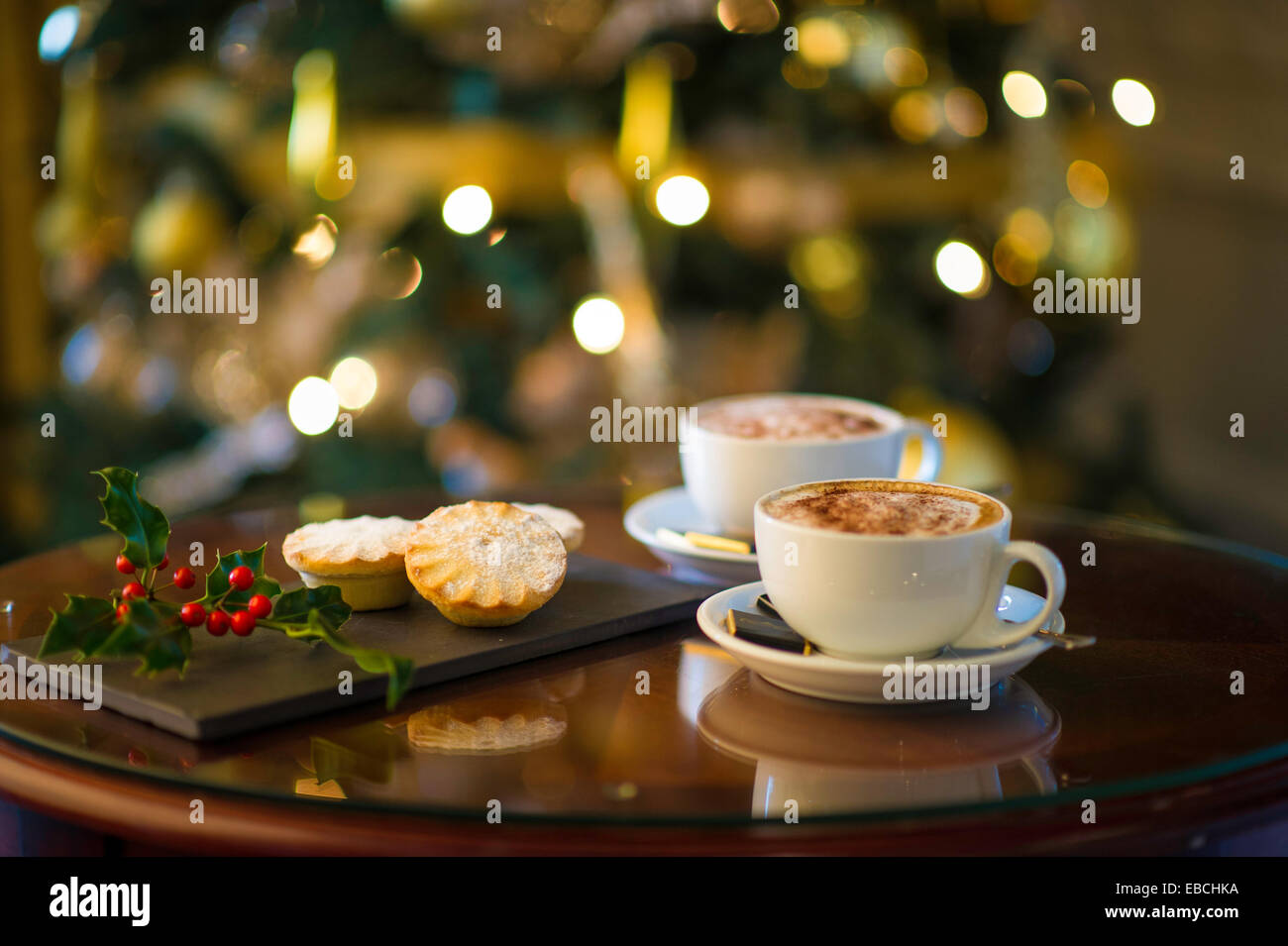 Mince Pies And Coffee With